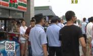 火车站地区运政 公安多部门联合执法 约谈出租车企业负责人杜绝出租车违法营运行为