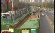 浐河西路污水管道应急增容工程提前6天贯通并通水