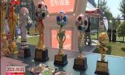迎十四运 创文明城 儿童足球星级评定赛在我市开幕