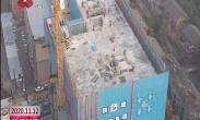 市中心血站新业务和培训综合楼主体结构封顶